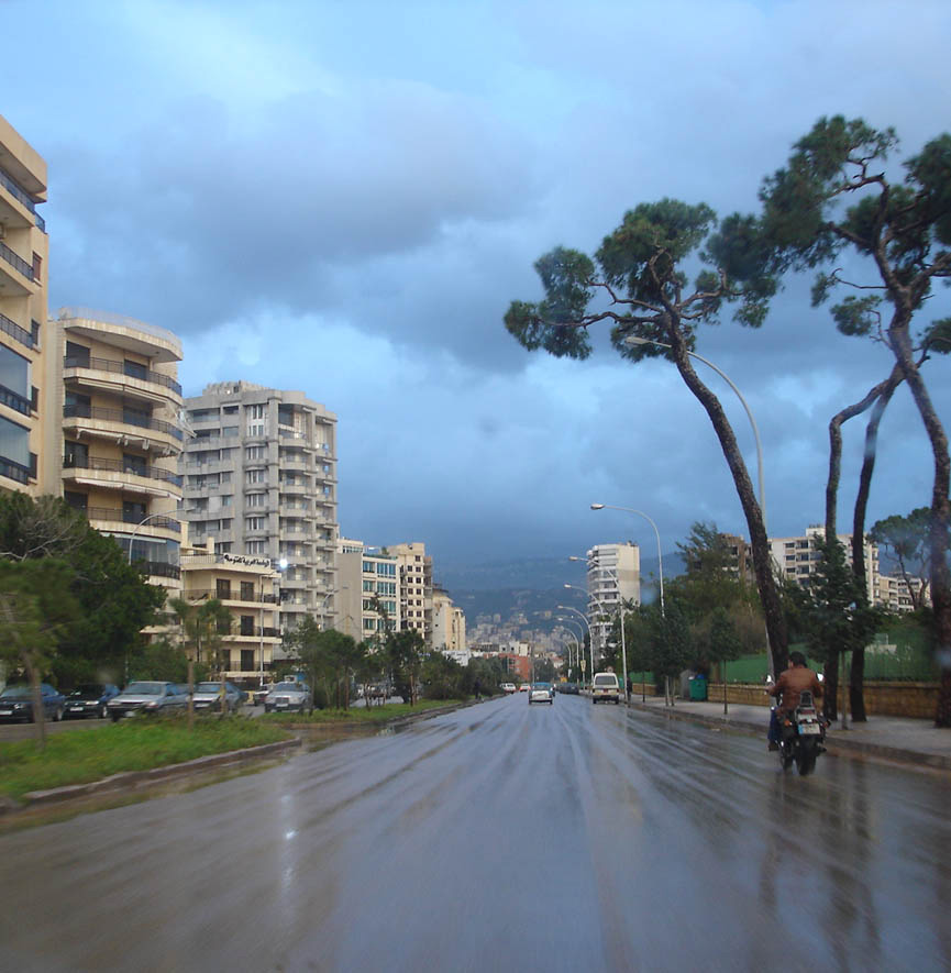 Beirut streets, downtown Beirut