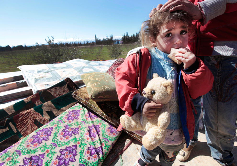 poor Syrian child